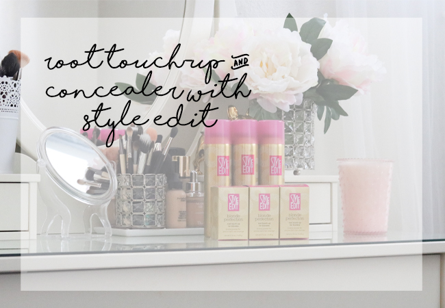 style edit blonde perfection root touch-up concealer