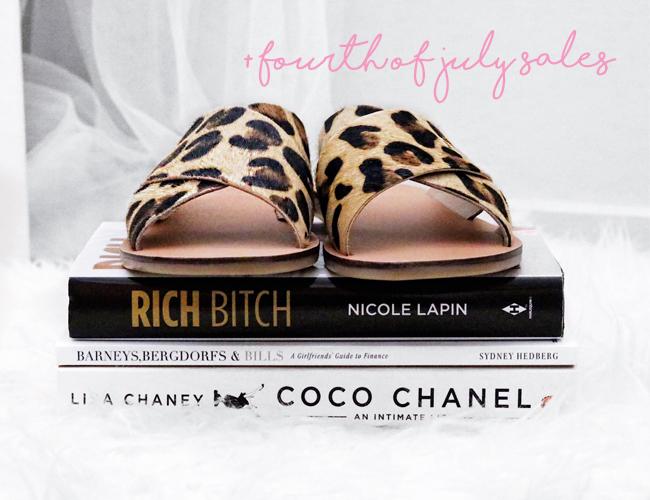 leopard slide sandals on rich bitch coco chanel books