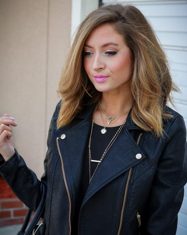 iby beauty black leather jacket