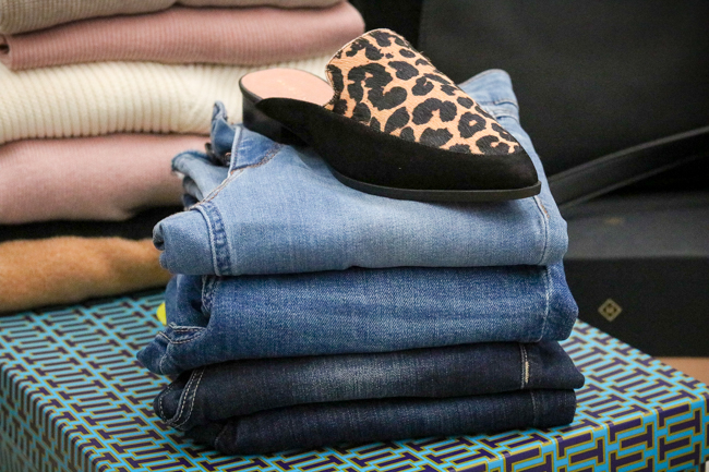 nordstrom anniversary sale 2017 denim leopard loafers