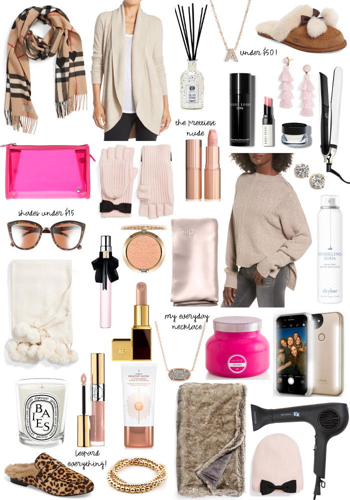 glam girl holiday gift guide