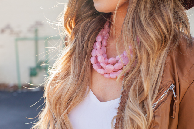 icrave pink necklace