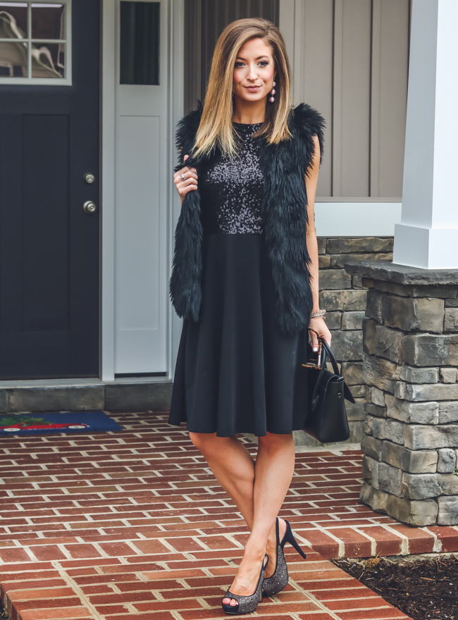 maggy london arabella fit and flare dress