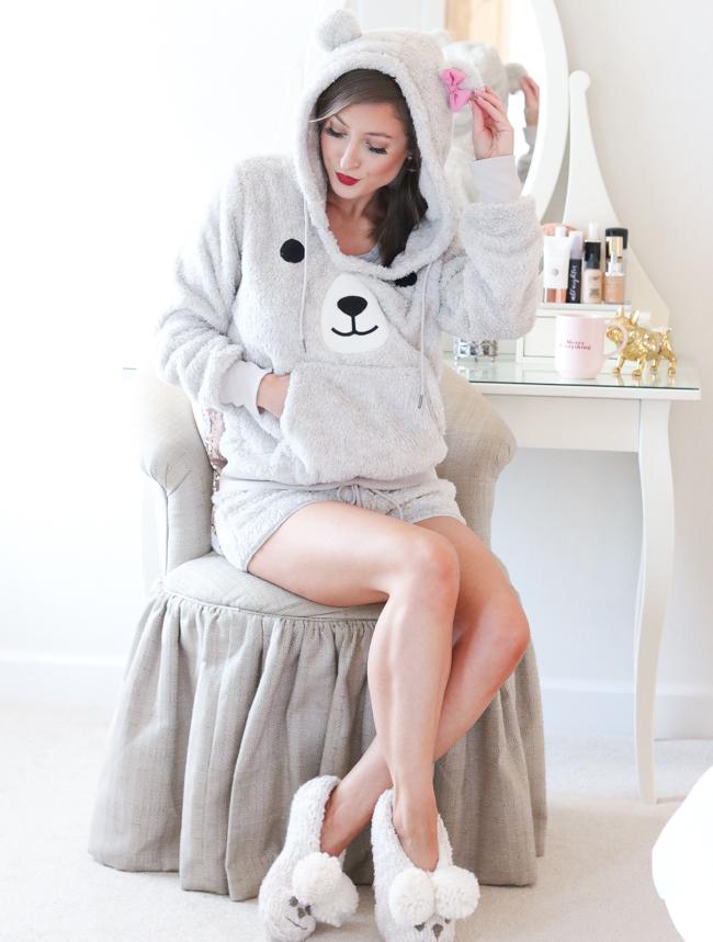 nordstrom cozy zoe bear pajamas