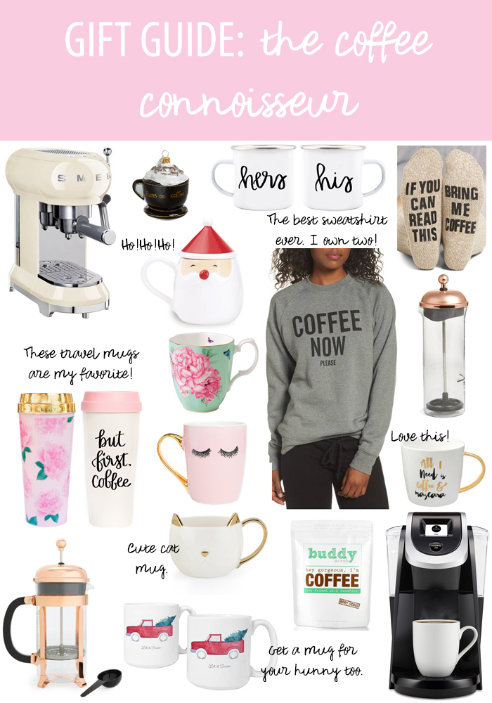 gift guide for the coffee connoisseur