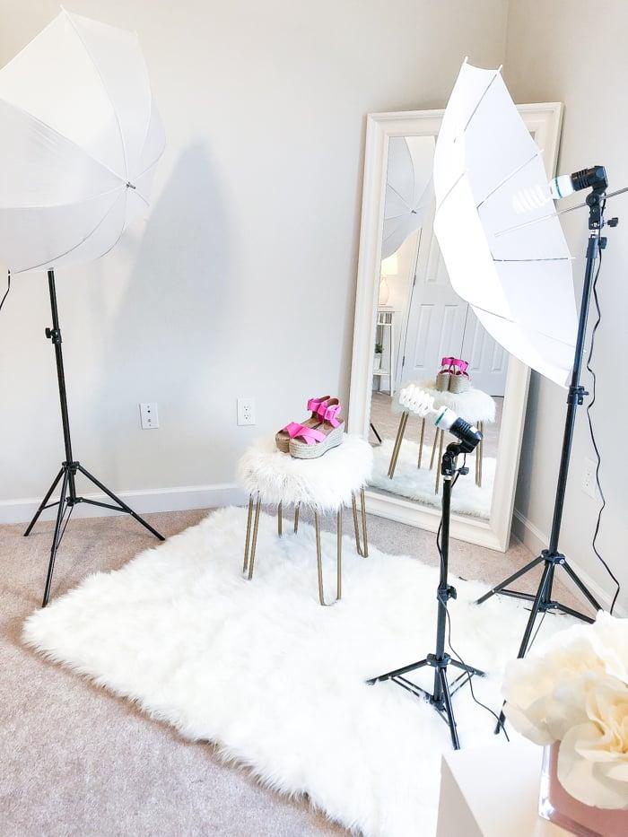at home photo studio