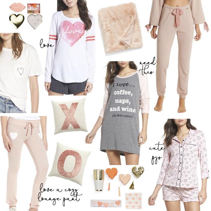valentine's day loungewear