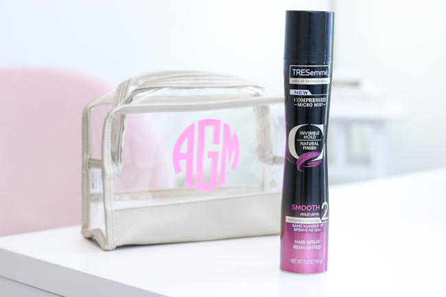 TRESemme Micro Mist Hairspray Curly Hair Tutorial