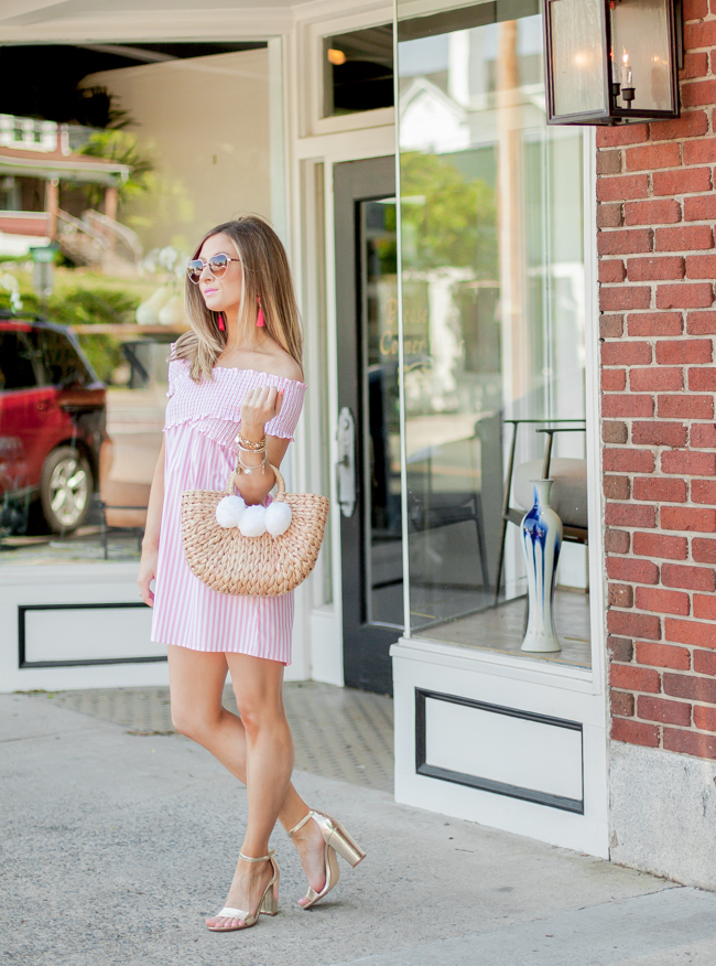 show me your mumu mandy smocked dress
