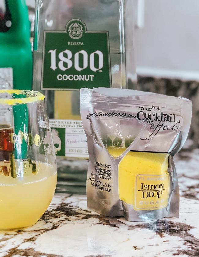 lemon drop cocktail sugar