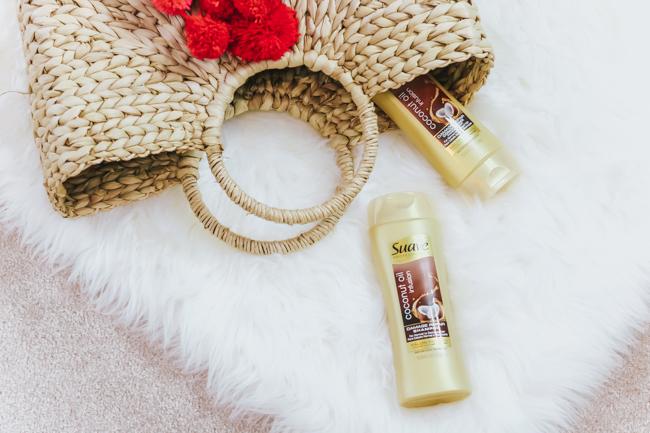 suave professionals coconut oil shampoo and conditioner