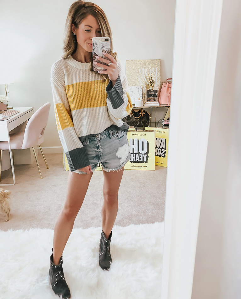 nordstrom bp stripe pullover