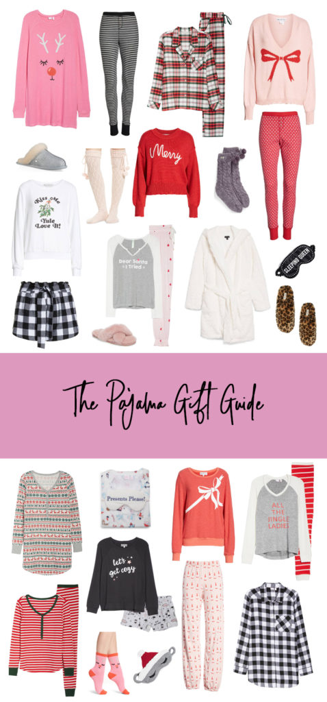 the pajama gift guide