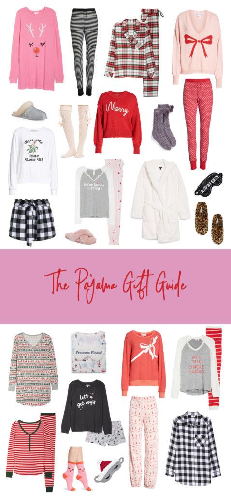 the pajama gift guide