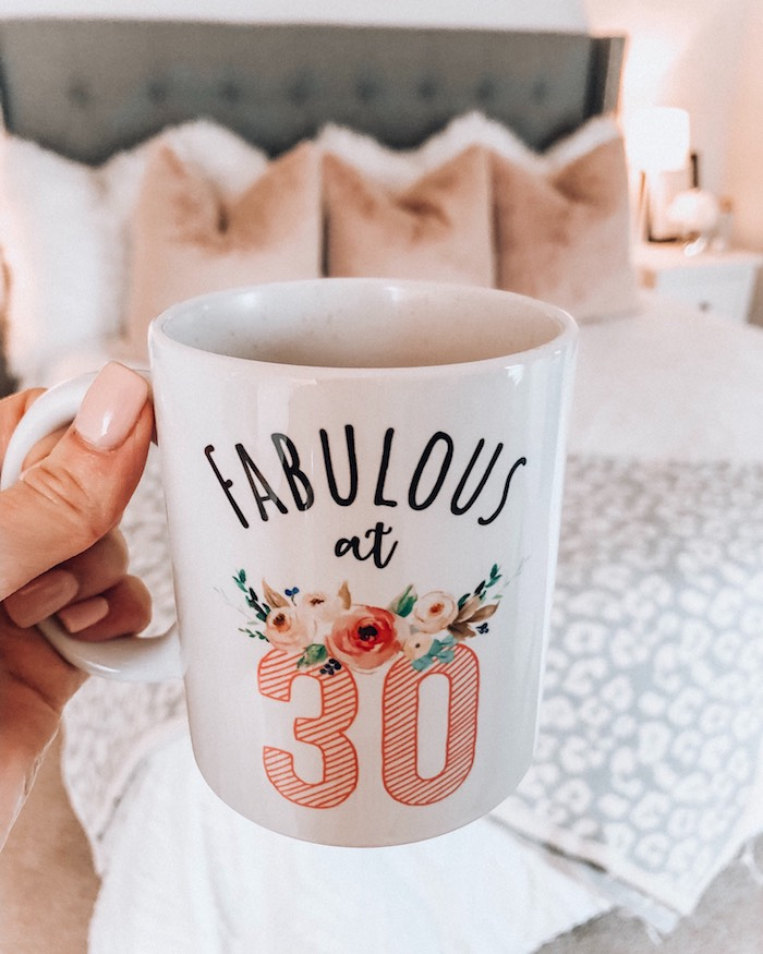 mhuglife fabulous at 30 coffee mug