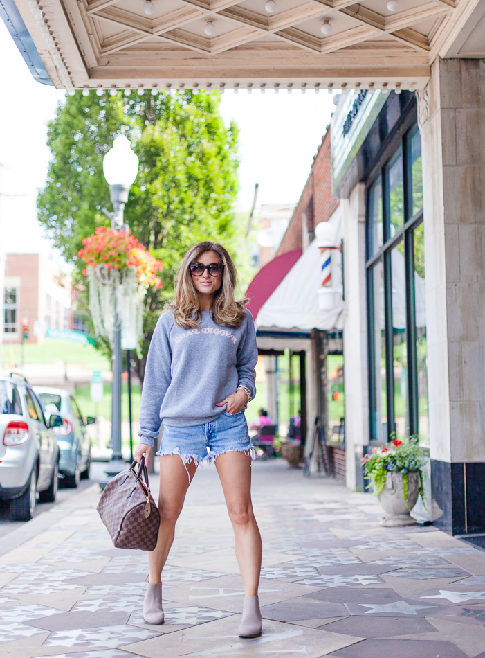 nordstrom pst by project social t goal digger sweatshirt