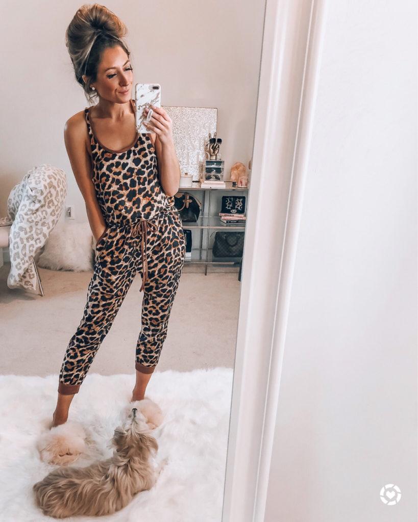 shop i love jewelry leopard pajama joggers
