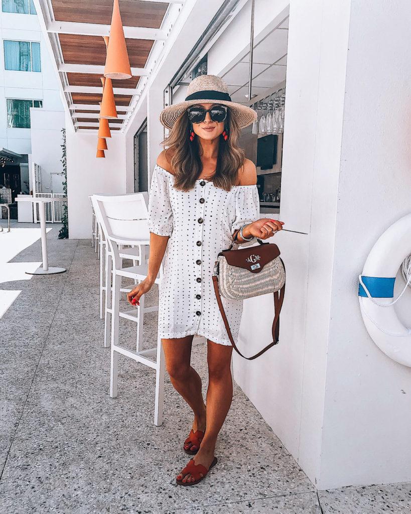 white emmer + oat dress