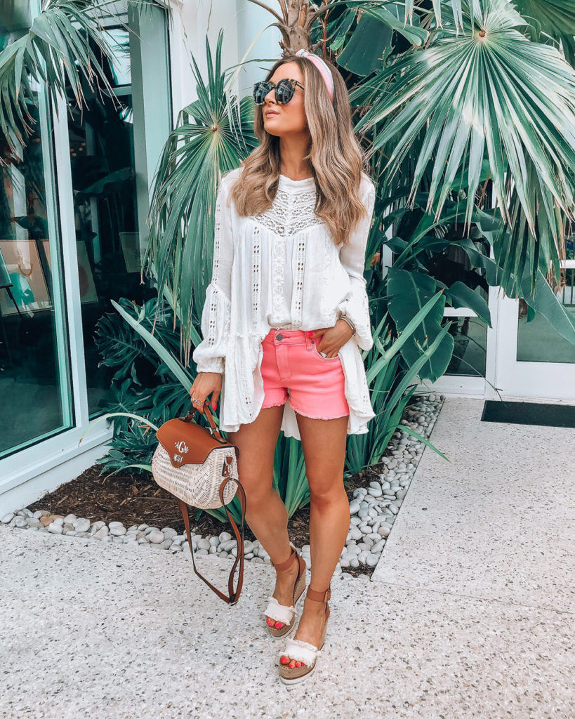 white free people top lace