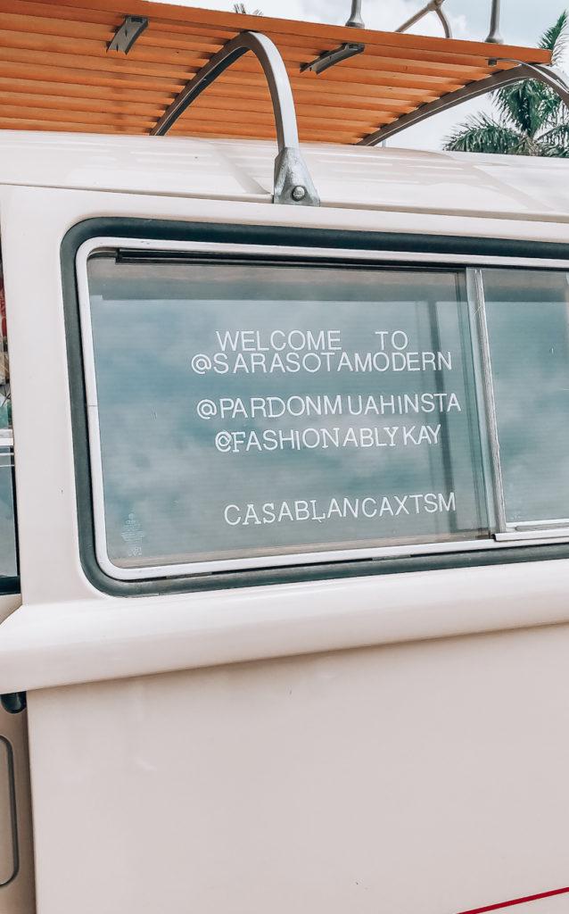 the sarasota modern hotel van