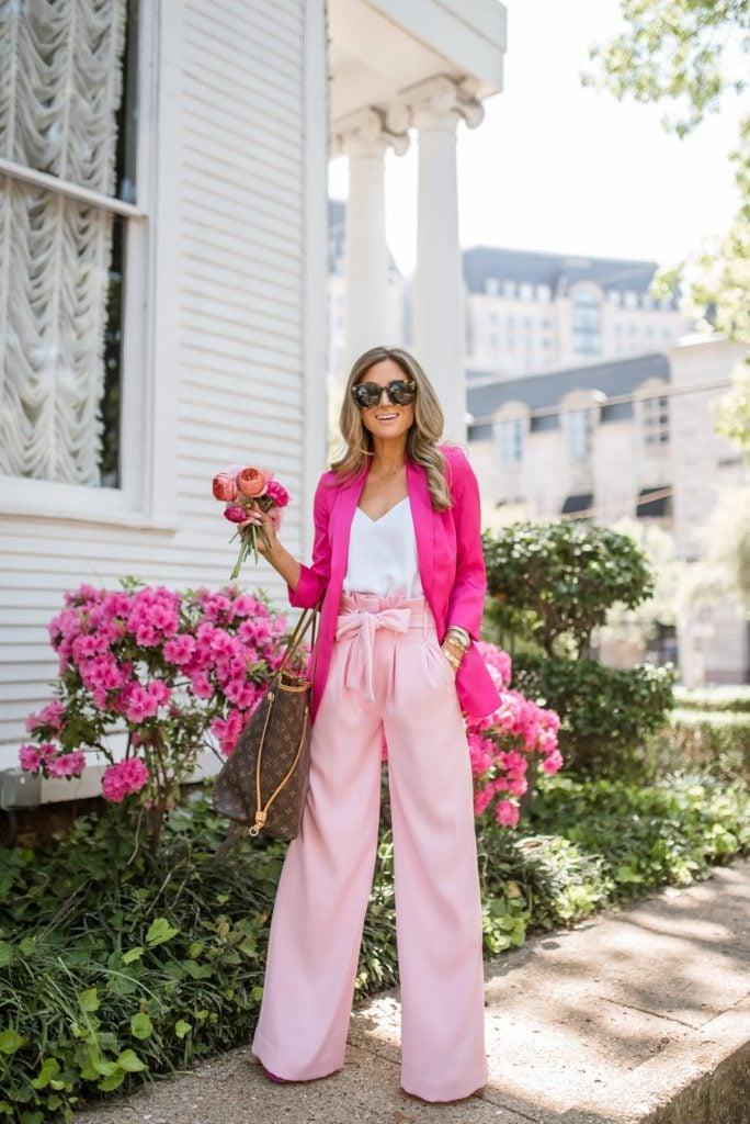 revolve pink lovers + friends karwayna pant