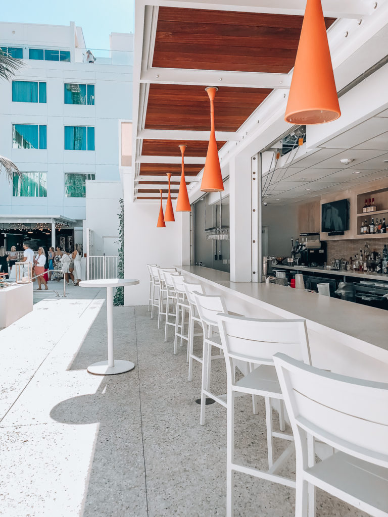 the sarasota modern poolside bar