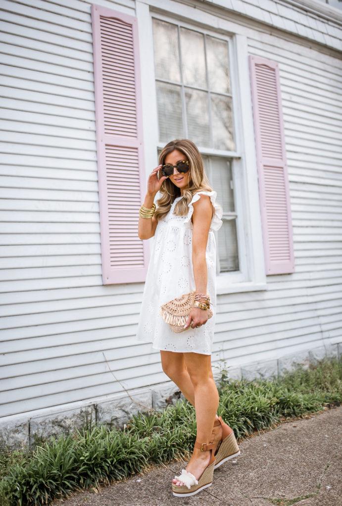 revolve tularosa white hill dress