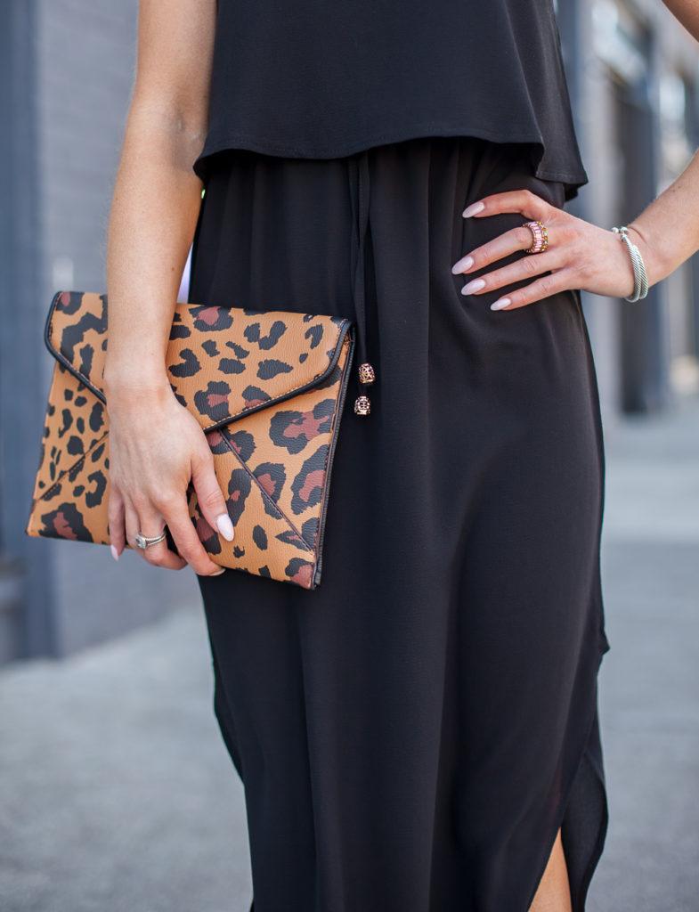 walmart leopard clutch