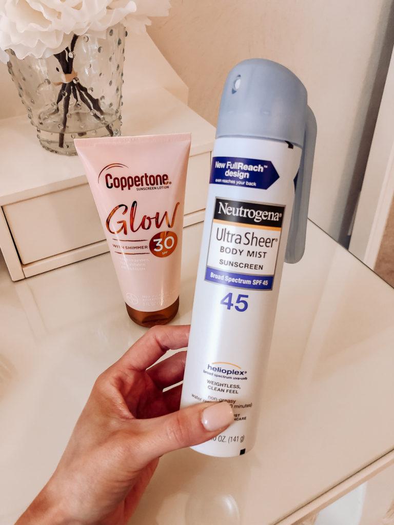 coppertone glow sunscreen neutrogena ulta sheer body mist sunscreen