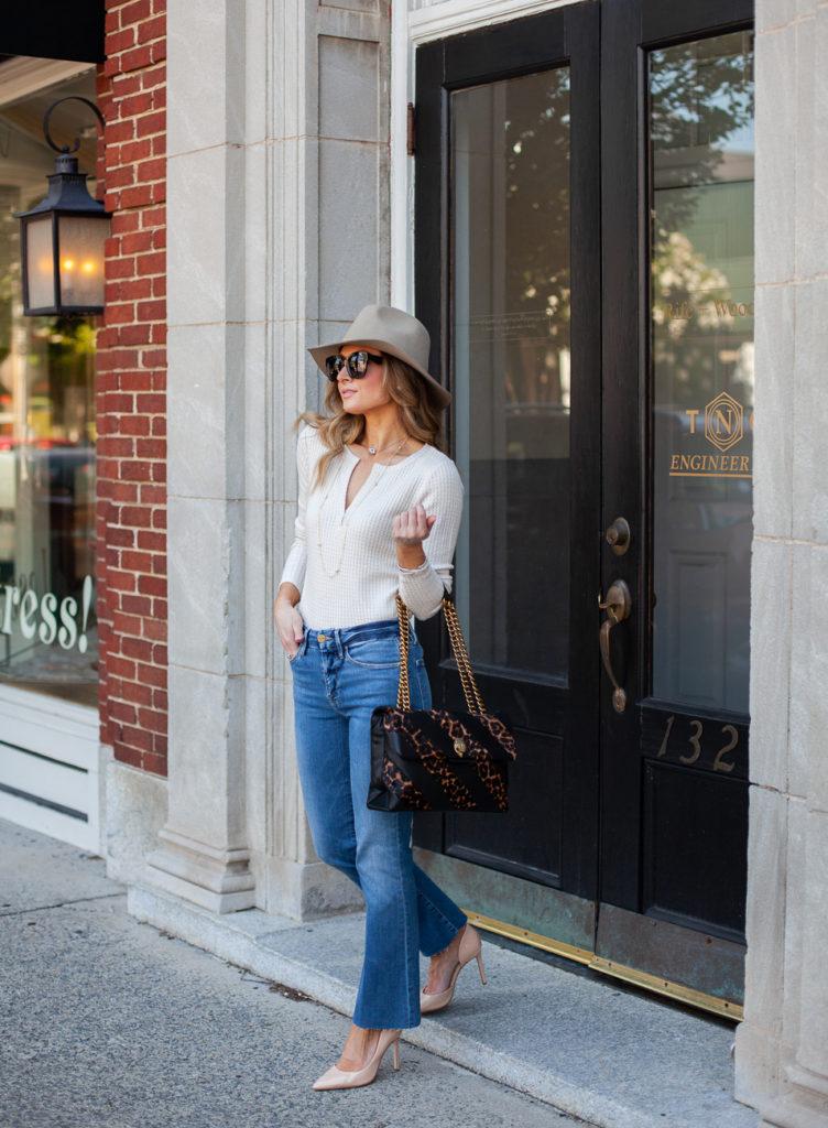 nordstrom frame le crop high waist mini boot raw edge jeans