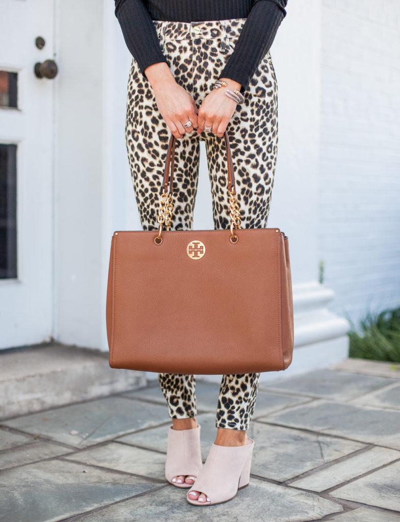 nordstrom frame ali leopard print high waist crop skinny jeans