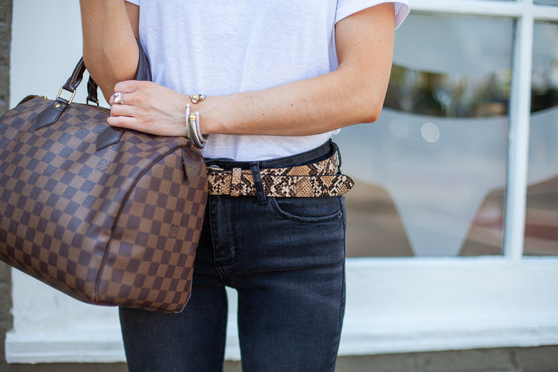 nordstrom snakeskin belt treasure and bond