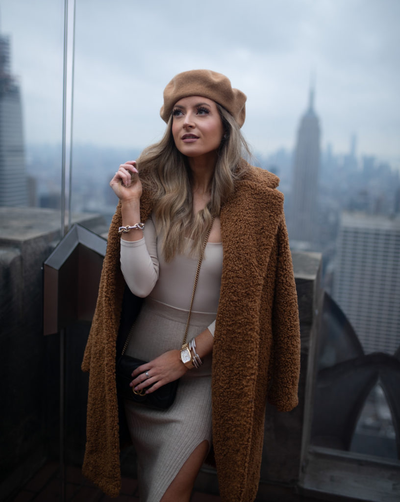 liketoknow.it takeover monochromatic tan outfit at top of the rock