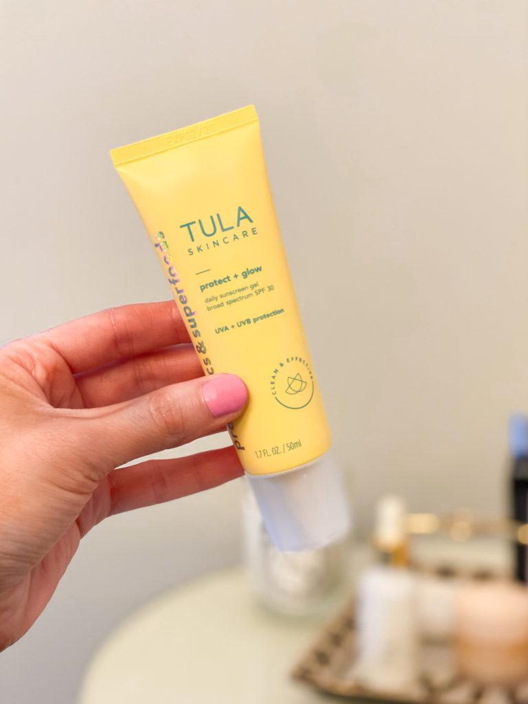 tula protect + glow daily sunscreen gel