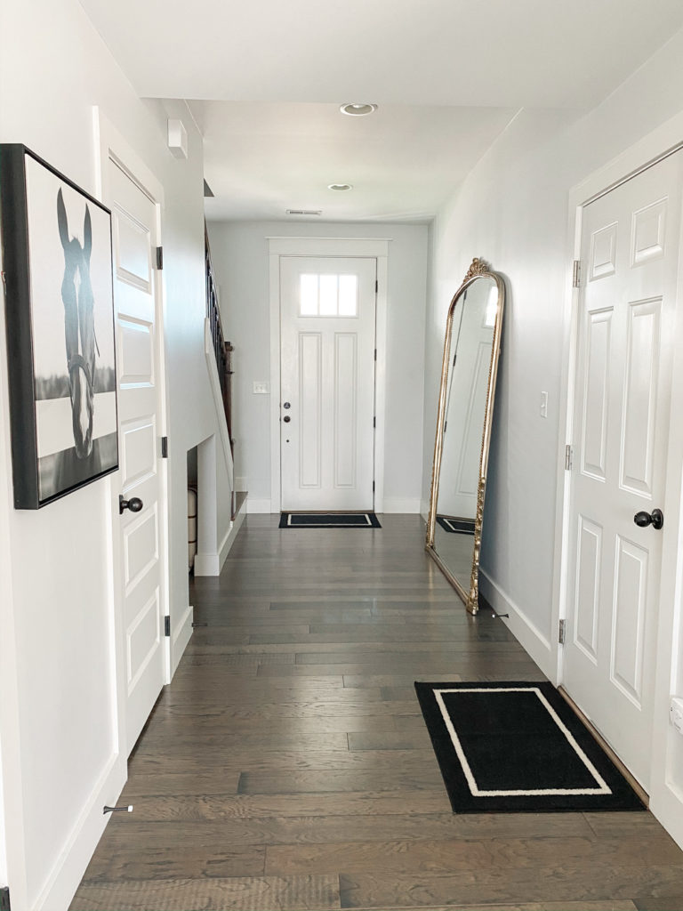 entry way gold large anthropologie mirror