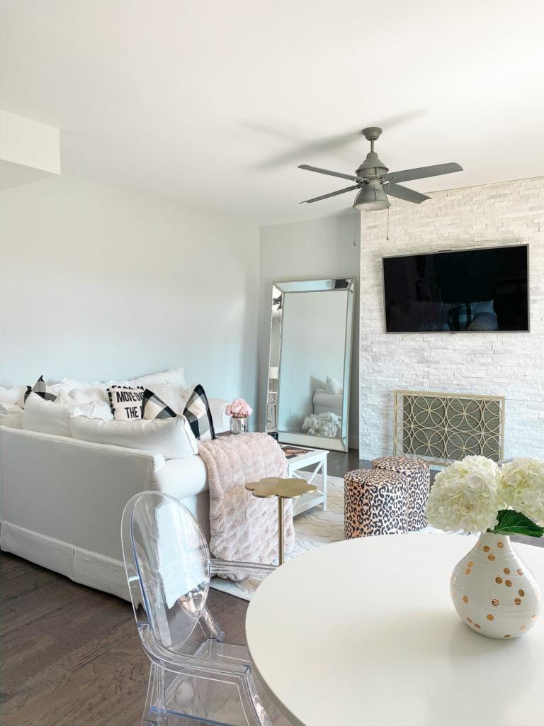 white ikea kitchen table