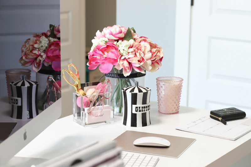 home office desk decor