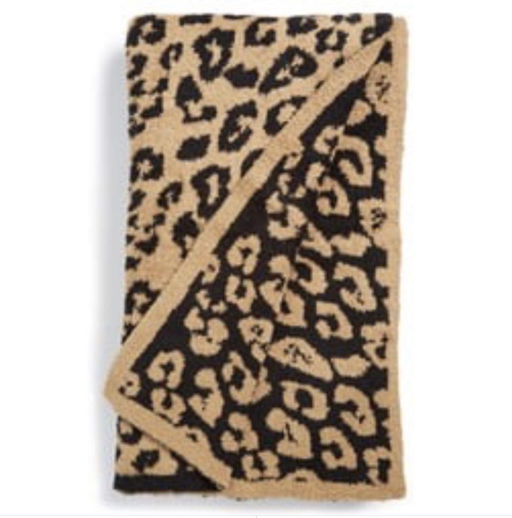 nordstrom leopard barefoot dreams blanket