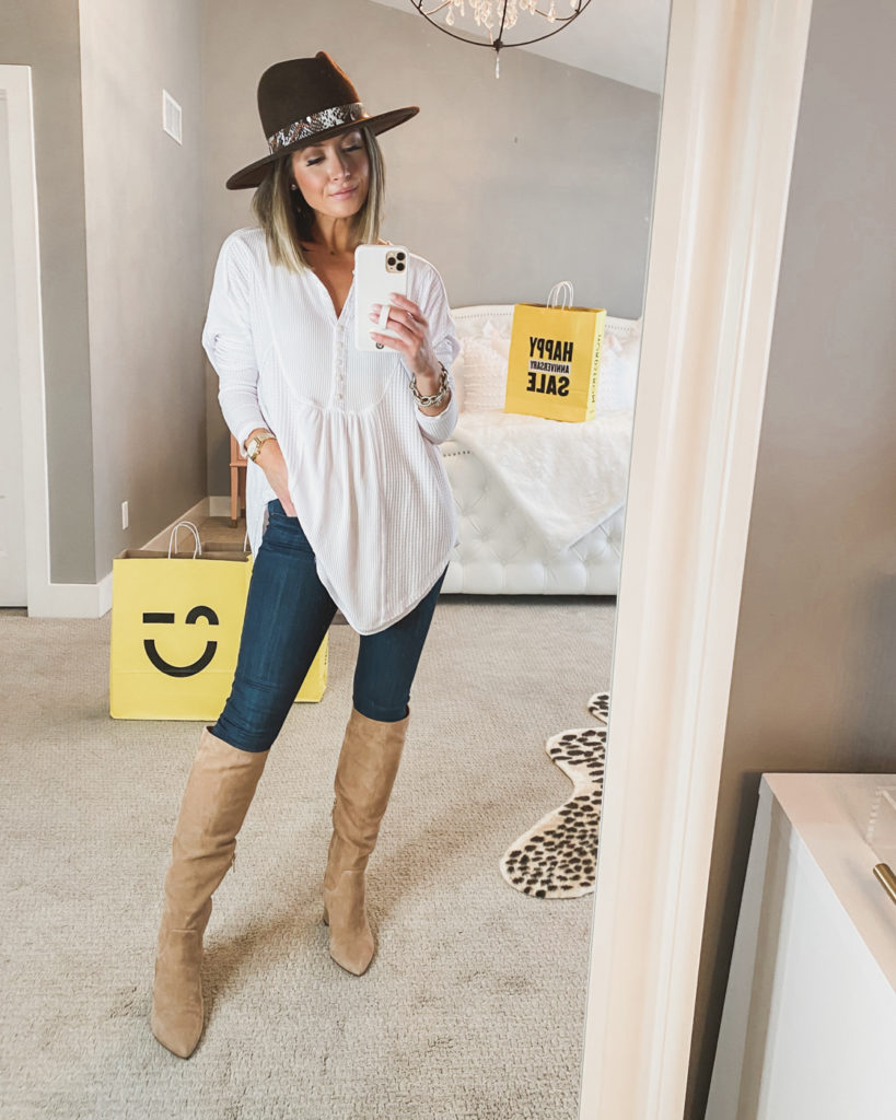 nordstrom anniversary sale free people white henley top