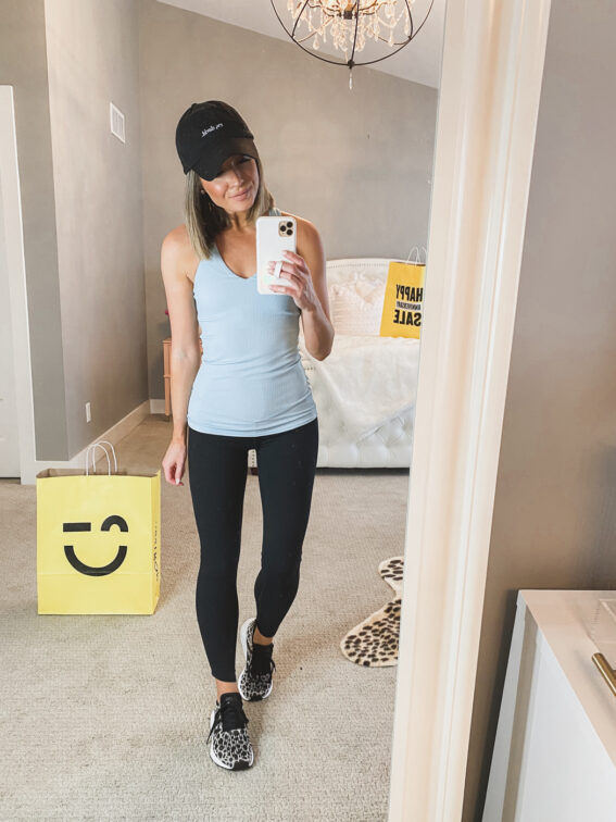 nordstrom anniversary sale alo blue tank top